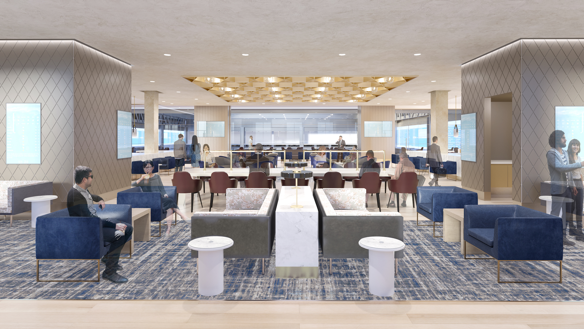 First look at Amtrak's new amenity space in revamped ...