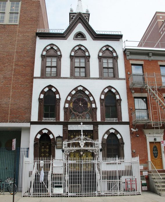 Churches of East village