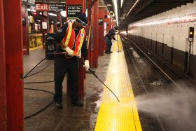MTA, NYC subway, subway cleaning
