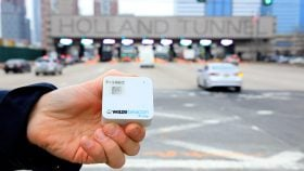 waze beacons, waze, port authority