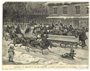 Sleigh carnival, history