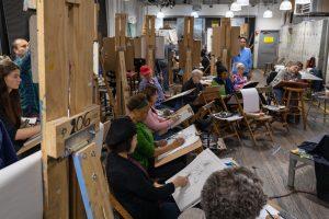 Art Students League, Where I Work, 215 West 57th Street