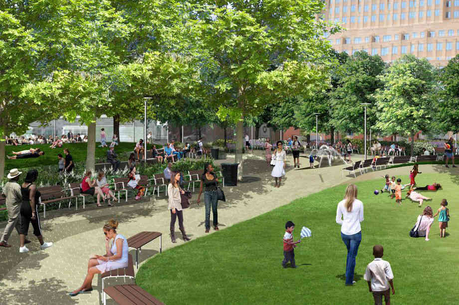 City revives Downtown Brooklyn's Willoughby Square Park project