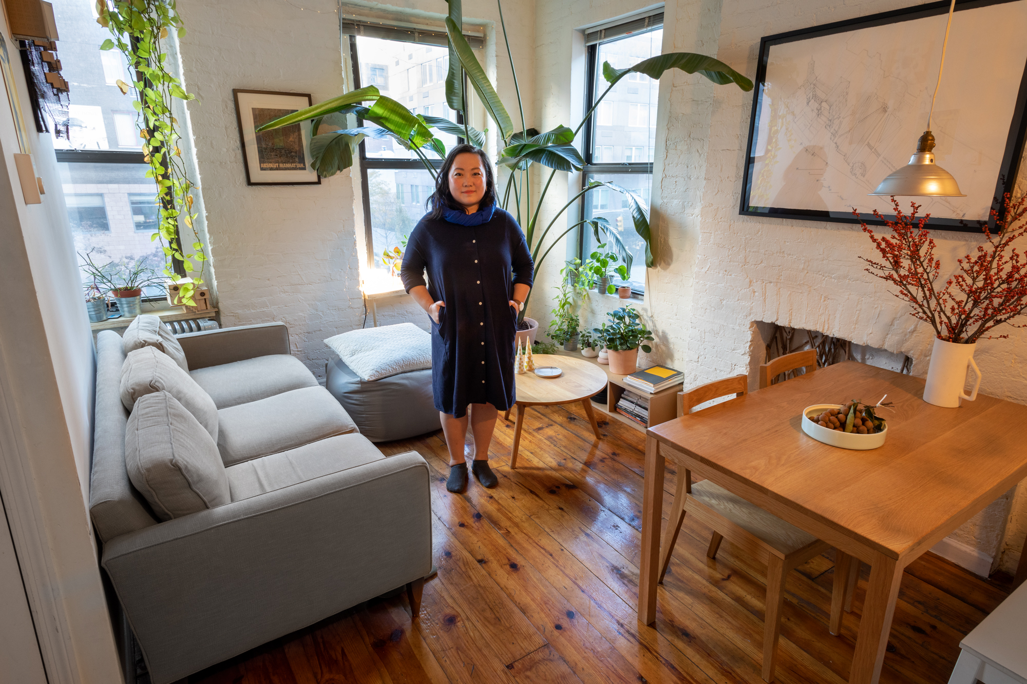 My 500sqft: How an architect brought chic sensibility to her ...