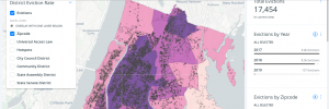 eviction map. Mayor bill de blasio