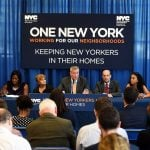 eviction, policy, mayor bill de blasio, universal access law