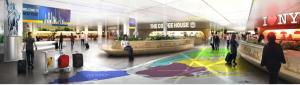 jfk airport, terminal 8, governor cuomo
