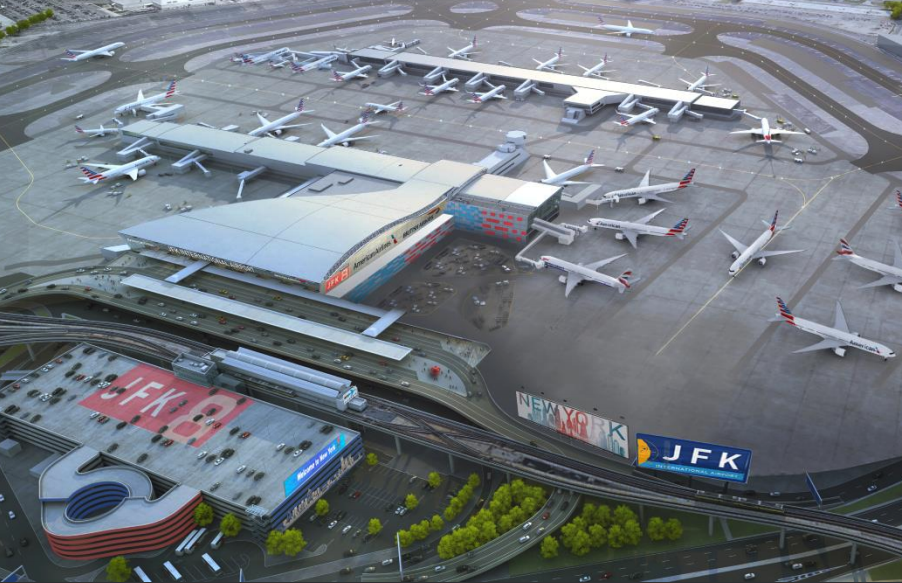 Cuomo announces $344M revamp of JFK's Terminal 8 | 6sqft