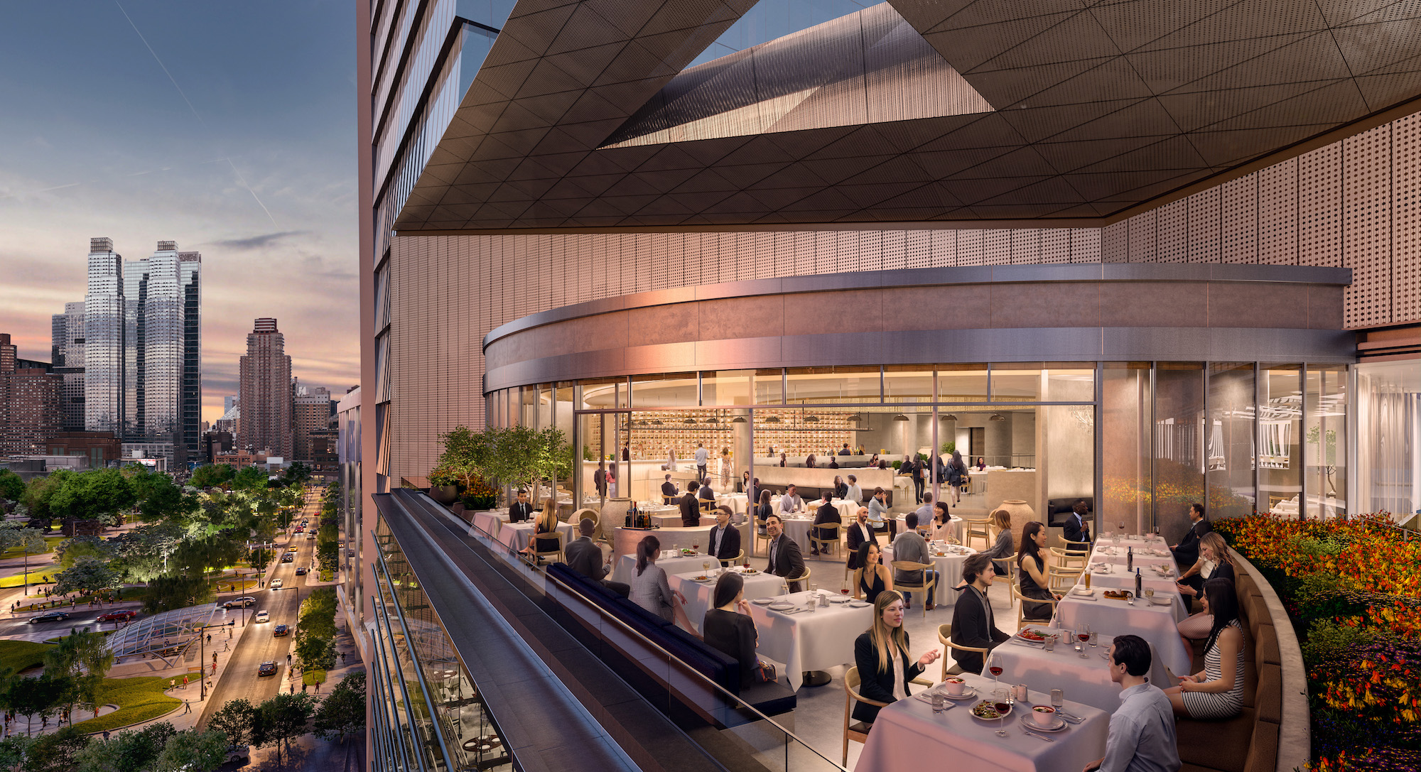 Hudson Yards Releases New Details About Restaurant And
