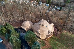25 Hillside Avenue, geodesic dome, upstate, cool listings, quirky homes
