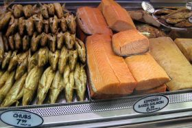 Russ & Daughters, smoked fish