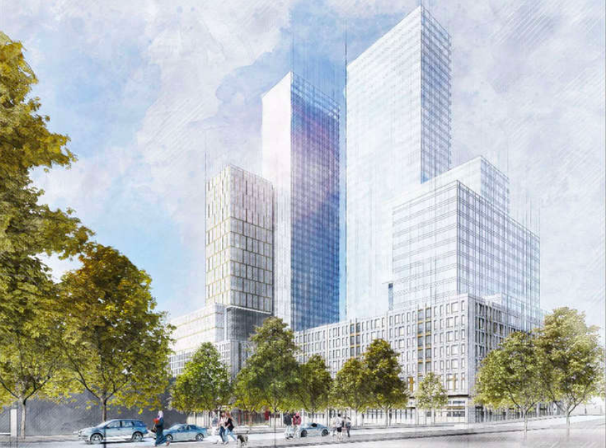 Affordable units and height slashed at proposed Brooklyn Botanic Garden-bordering towers