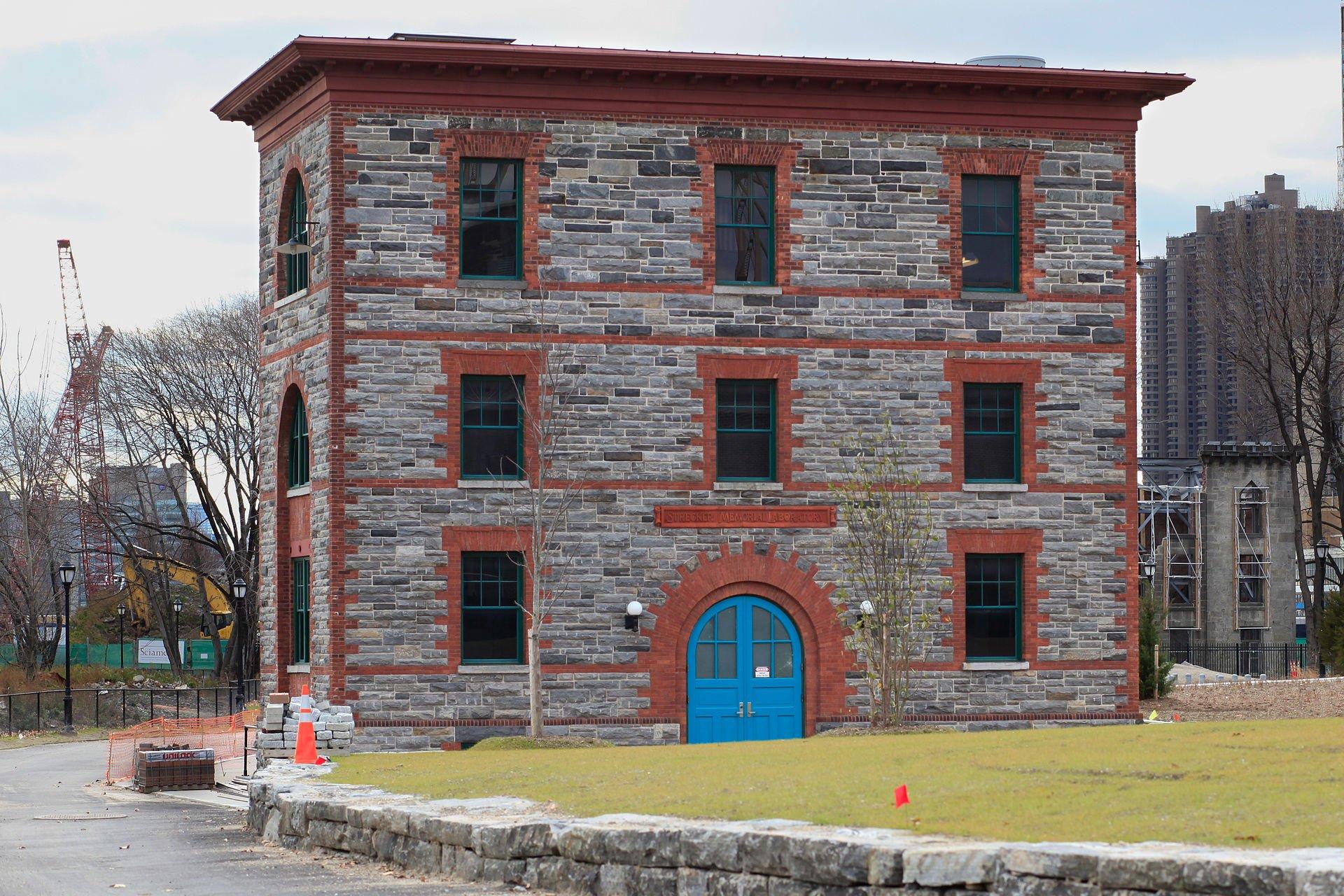 Strecker Laboratory, Roosevelt Island