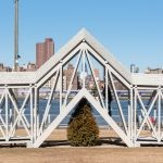 Siah Armajani, Bridge Over Tree, public art, brooklyn bridge park