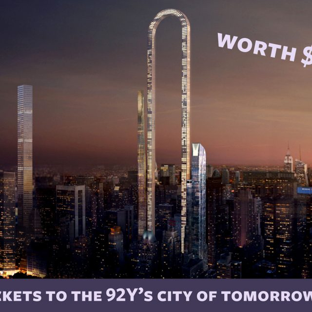 Win tickets to hear Rafael Viñoly, José Andrés, and more speak at the 92Y's 'City of Tomorrow' summit