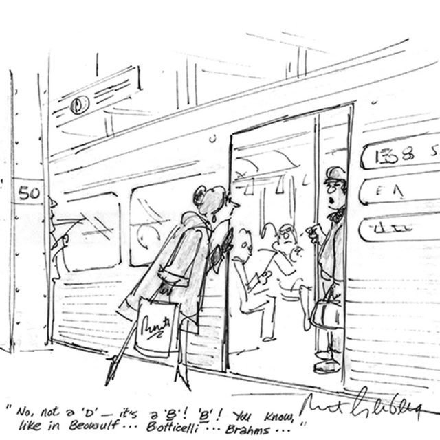 NYHS exhibit celebrates cartoonist Mort Gerberg's witty take on city life and social issues
