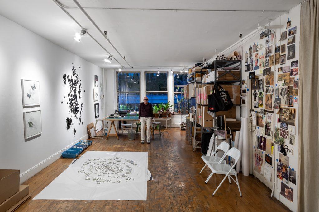 1b23e0bfa My 1,300sqft: Artist Rob Wynne's glass installations mix with eclectic  decor in his Soho loft   6sqft