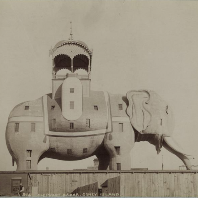 The sordid, surreal, and spectacular history of Coney Island's Elephant Hotel