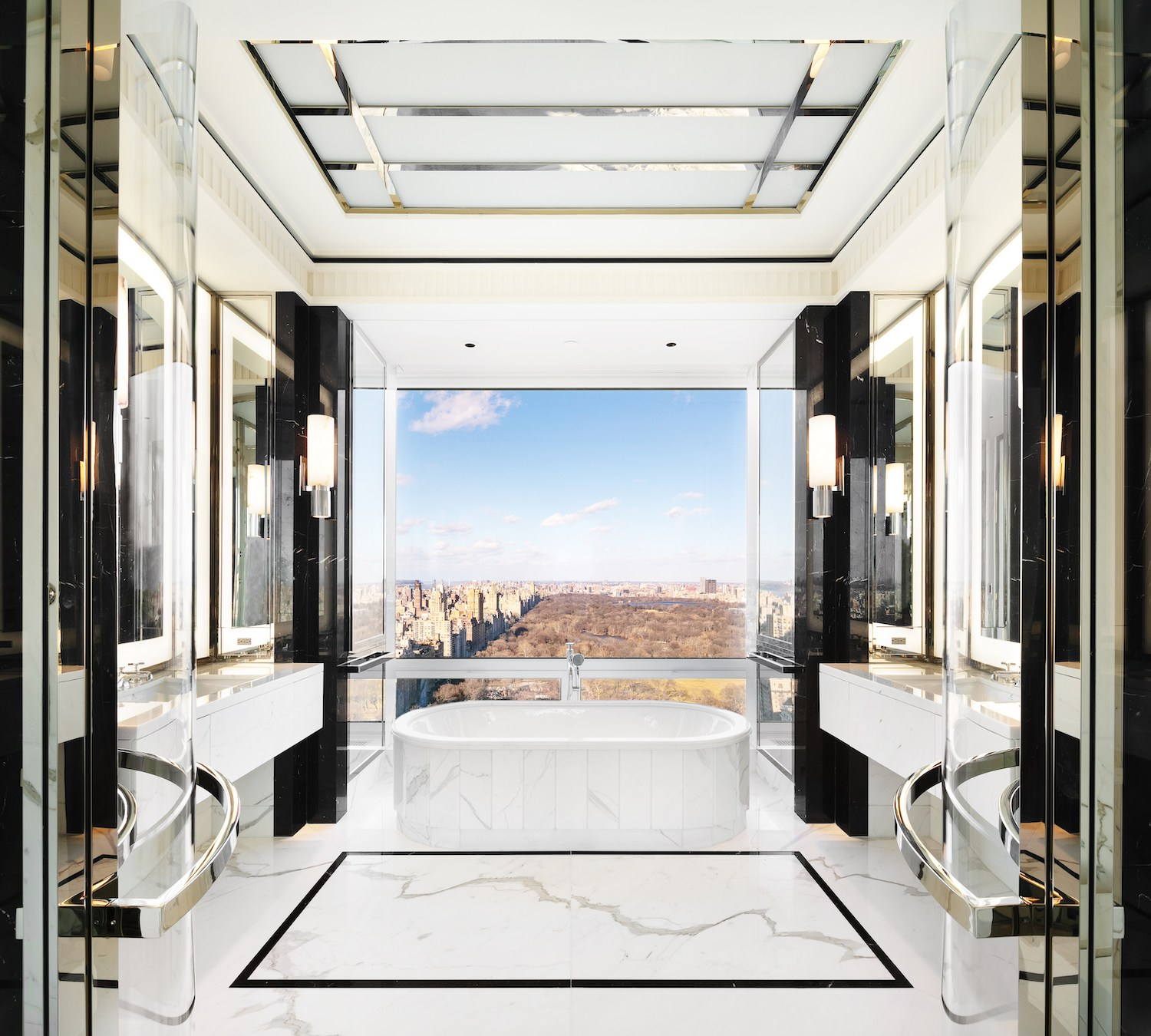 Rental Homes Website: Get A Rare Look Inside 220 Central Park South Thanks To