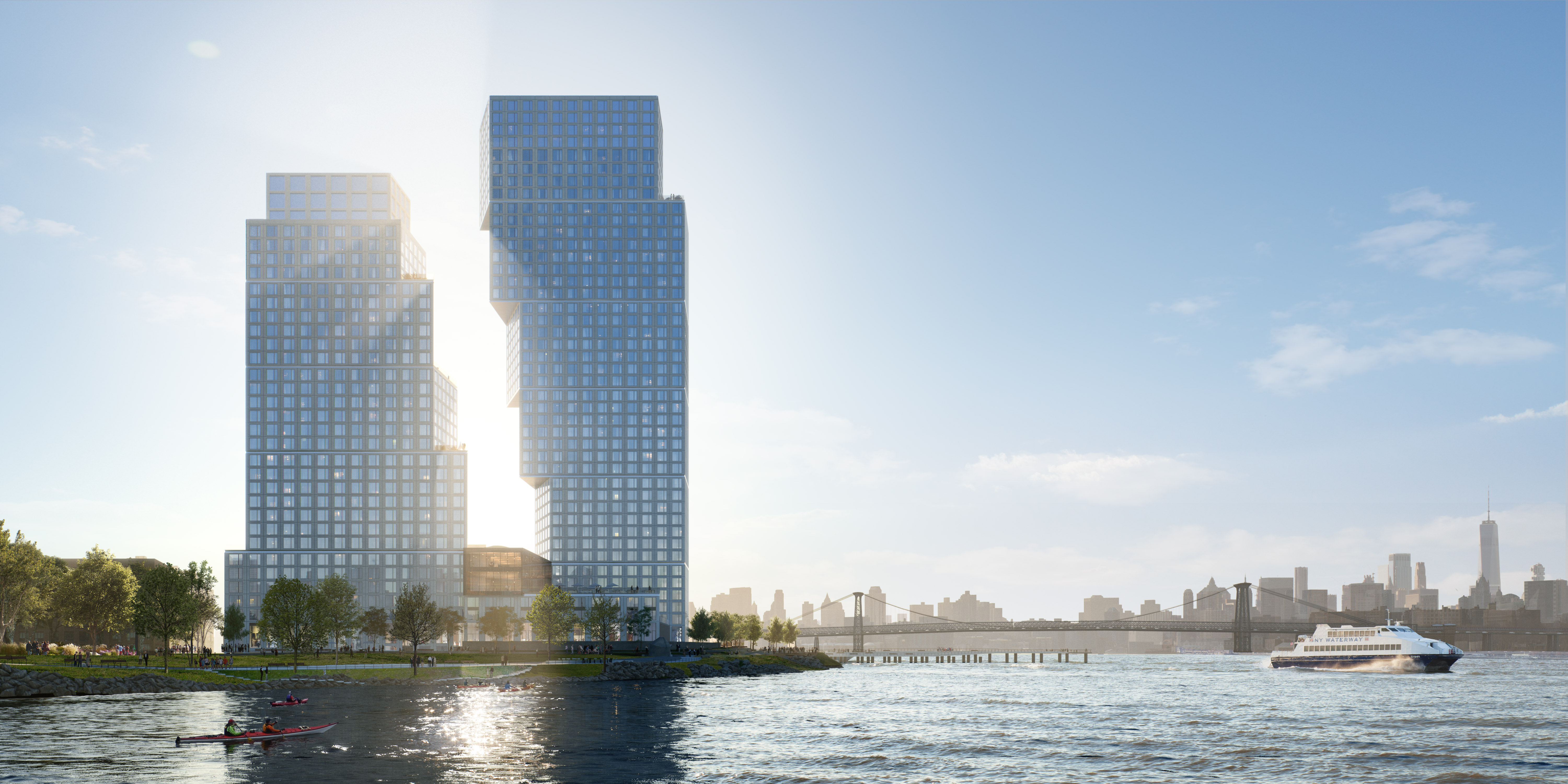greenpoint landing, OMA, greenpoint, new developments