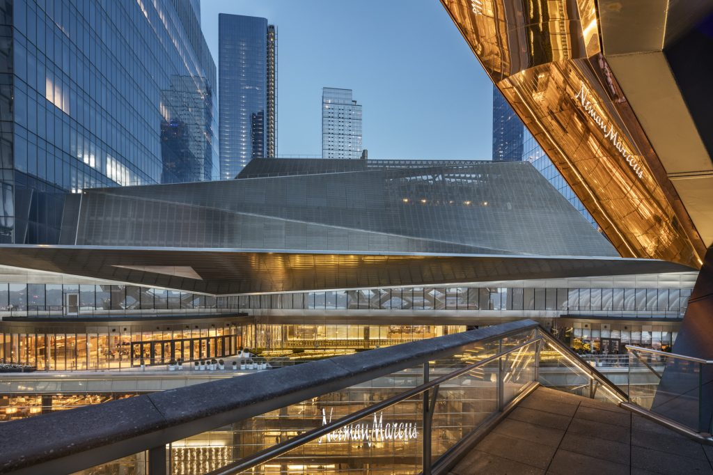 See inside Hudson Yards' seven-story dining and shopping center ahead of Friday's opening