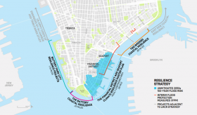 Lower Manhattan Resiliency, de Blasio, climate change nyc