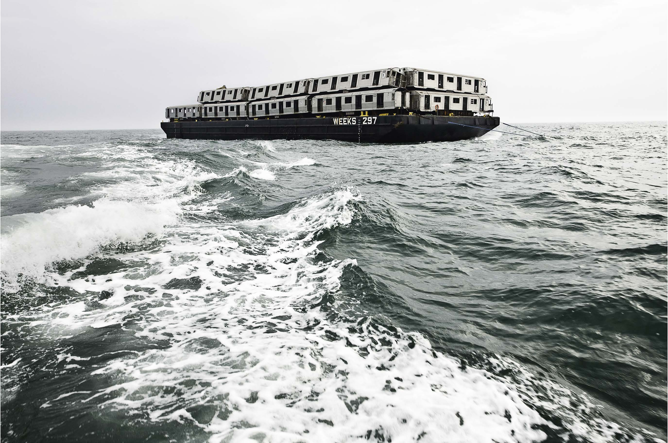 stephen mallon, sea train, artificial reef, events, photography