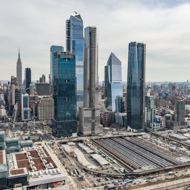 After seven years of construction, Hudson Yards is now OPEN