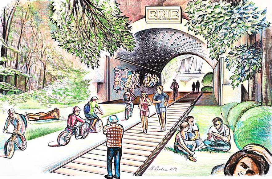 Jersey City wants to open a High Line-style park