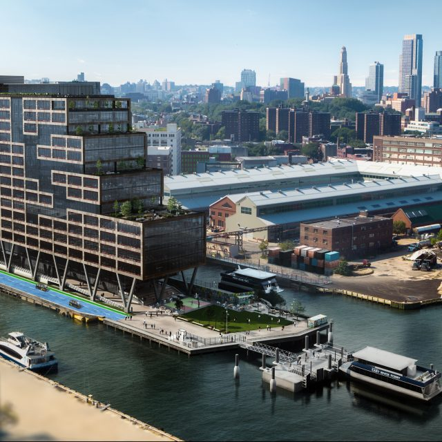 Self-driving shuttle service is coming to the Brooklyn Navy Yard