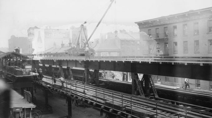 Ninth Avenue El, elevated train NYC