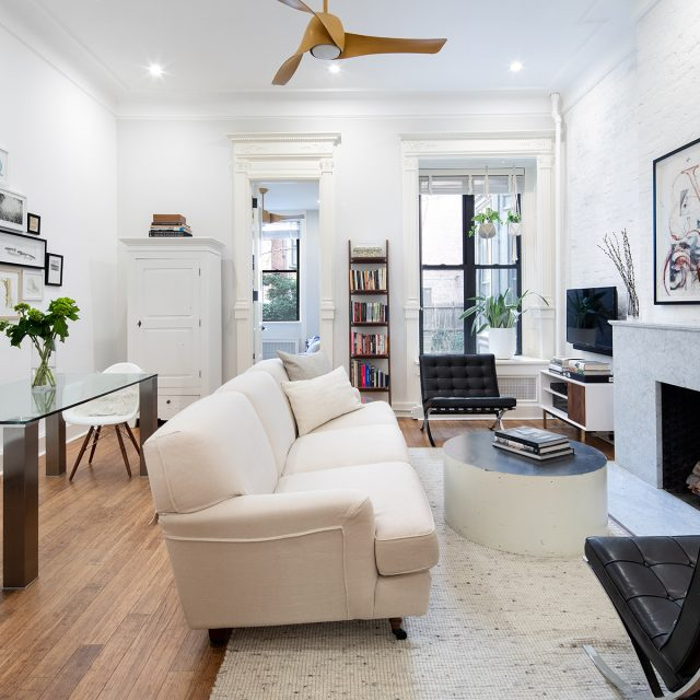 For $1.4M, this Upper West Side two-bedroom blends old-world charm with sleek, modern lines
