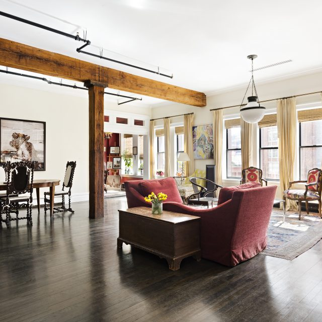 This $3.2M Tribeca loft in a former coconut factory has polish and poise
