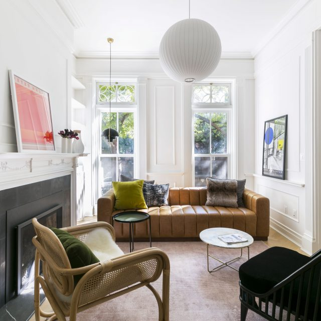 Renovation Diary: A Clinton Hill townhouse makes room for layers of history and modernist design