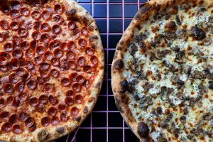 Noam Grossman, Upside Pizza, NYC restaurants
