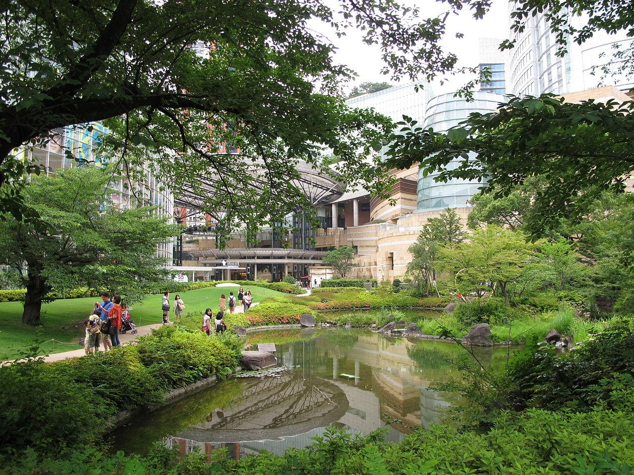 Roppongi Hills, Mori Garden, Tokyo
