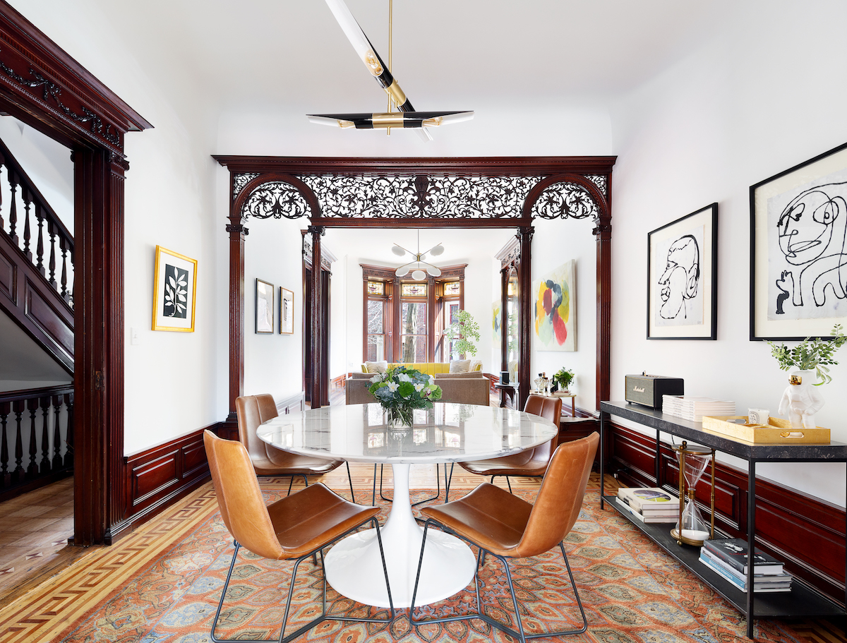 $3 2M historic Bed-Stuy home keeps the details and gets the