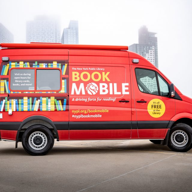 NYPL officially rolls out new bookmobile in time for summer