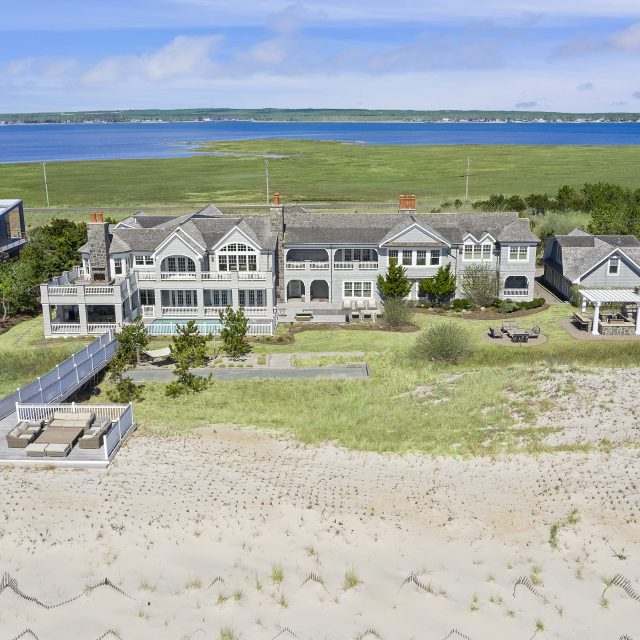Four-acre Hamptons retreat offers private beach access and a saltwater pool for $14.5M