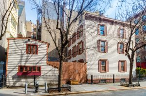17 Grove Street, wooden house, West Village