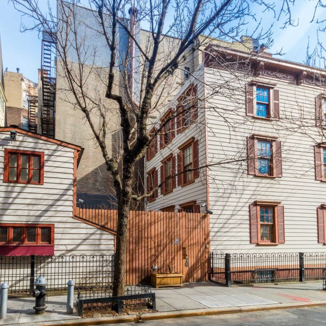 For $12M, a wooden West Village townhouse built two centuries ago