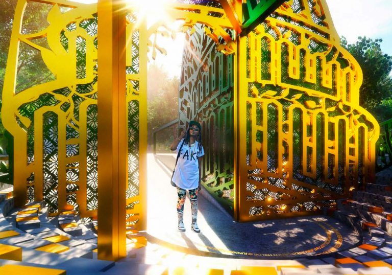 shirley chisholm, prospect park, statues, public art, memorials, Amanda Williams, Olalekan Jeyifous, She Built NYC