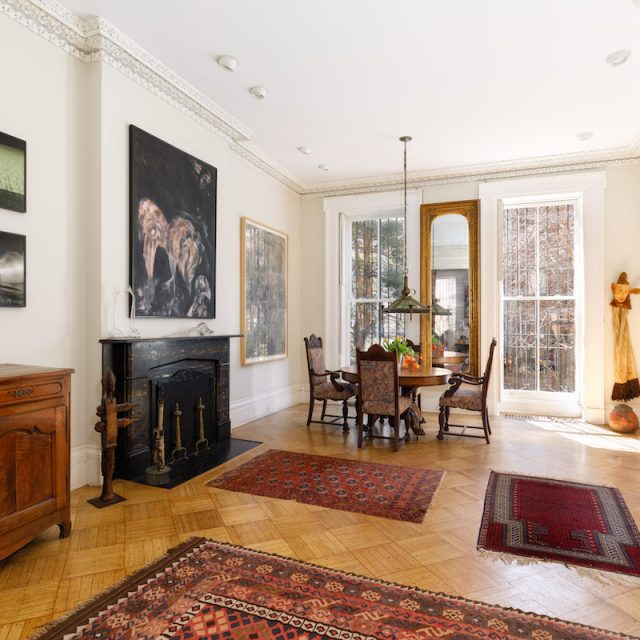 Built in 1842, this $9.8M Gramercy mansion is one of the neighborhood's oldest homes