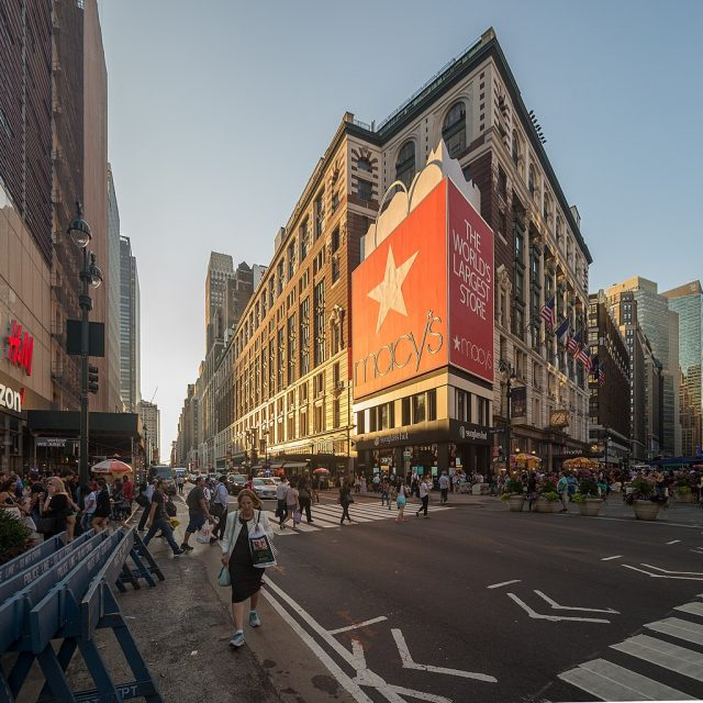 Macy's may build a skyscraper above its flagship Herald Square store