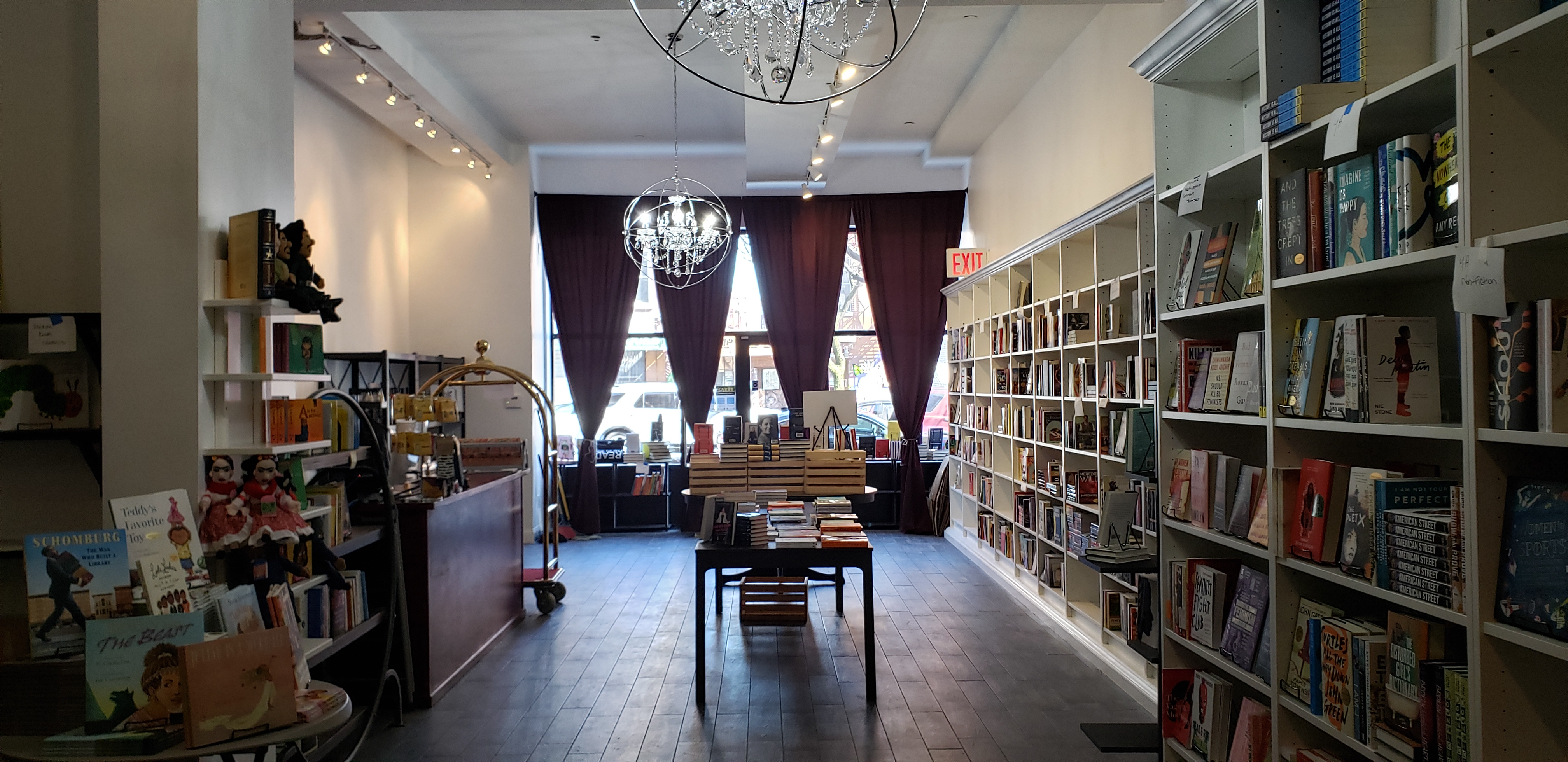 the lit bar, bookstores, south bronx, bronx mott haven