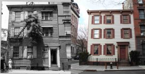 17 Grove Street, Greenwich Village Historic Preservation Society, Greenwich Village, maps