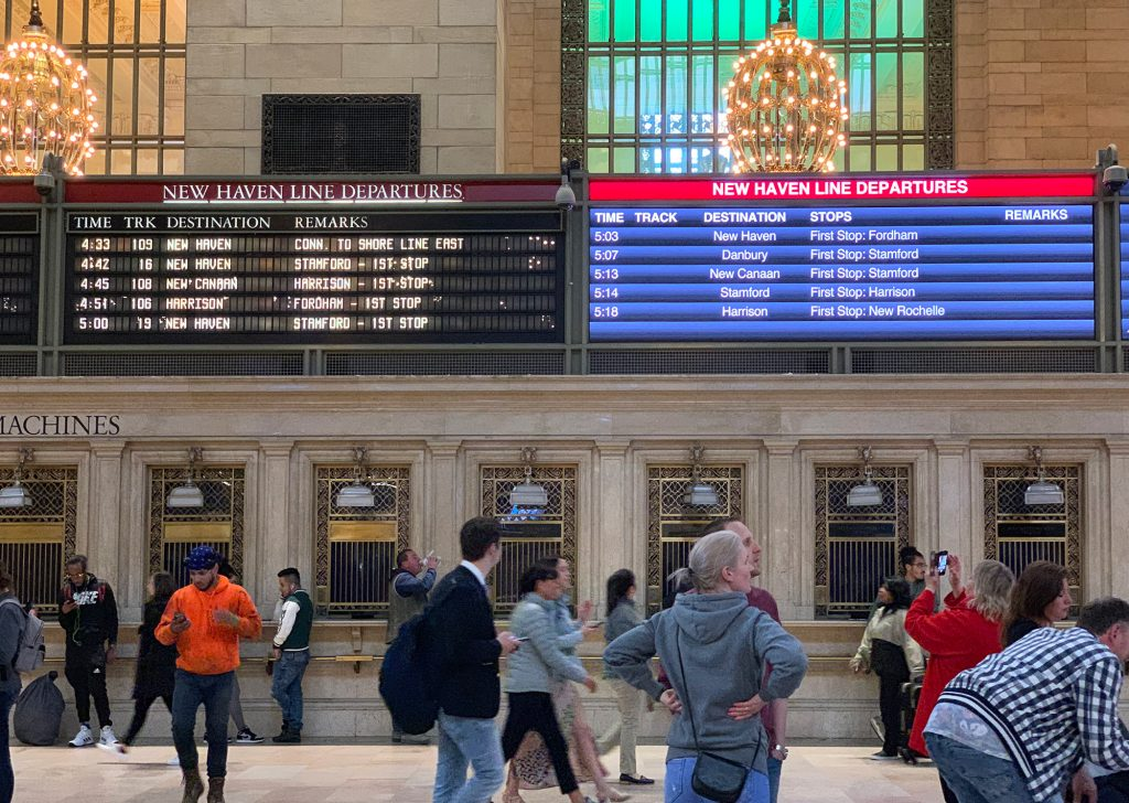 Grand Central Station Interior Photograph Vintage Photo from 2007