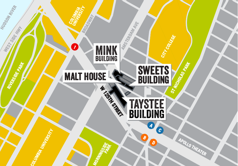 taystee lab building, the janus property group, manhattanville factory district, west harlem, new developments