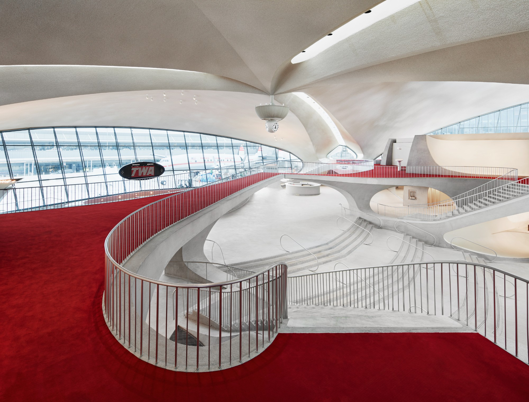 PHOTOS: The TWA Hotel at JFK is officially open!   6sqft
