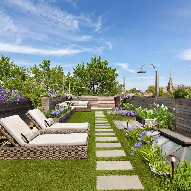 $1.9M Park Slope co-op has a lush roof terrace with views of nearby Prospect Park